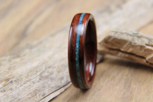 Kingwood with Turquoise