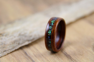 Santos Rosewood with Paua Shell Inlay